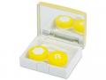 Pouzdra na kontaktní čočky se zrcátkem - Elegantní kazetka - zlatá