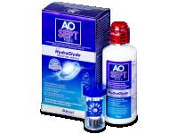 Kontaktní čočky levně - Roztok AO SEPT PLUS HydraGlyde 90 ml
