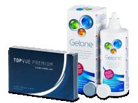 Výhodné balíčky kontaktních čoček - TopVue Premium (6čoček)