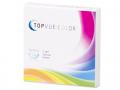Měsíční kontaktní čočky - TopVue Color - dioptrické