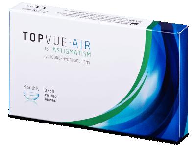 TopVue Air for Astigmatism (3čočky)