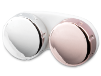 Příslušenství k čočkám - Pouzdro na čočky zrcadlové - růžové