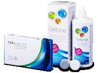Výhodné balíčky kontaktních čoček - TopVue Air for Astigmatism (3čočky)