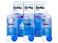 Kontaktní čočky Bausch and Lomb - Roztok ReNu MPS Sensitive Eyes 3x360 ml