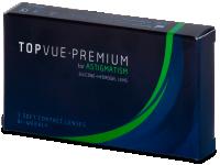 Torické (astigmatické) kontaktní čočky - TopVue Premium for Astigmatism