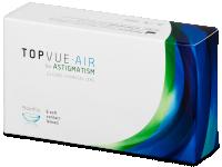 Měsíční kontaktní čočky - TopVue Air for Astigmatism