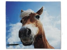 Čistící hadřík na brýle - kůň