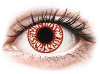 Crazy barevné kontaktní čočky - ColourVUE Crazy Lens - Blood Shot - nedioptrické jednodenní