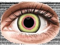 Crazy barevné kontaktní čočky - ColourVUE Crazy Lens - Mad Hatter - nedioptrické jednodenní