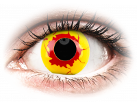Barevné kontaktní čočky - ColourVUE Crazy Lens - Reignfire - nedioptrické jednodenní