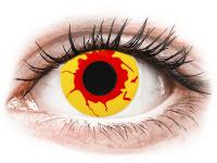 Crazy barevné kontaktní čočky - ColourVUE Crazy Lens - Reignfire - nedioptrické jednodenní