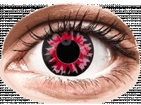 Crazy barevné kontaktní čočky - ColourVUE Crazy Lens - Volturi - nedioptrické jednodenní