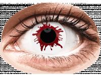 Crazy barevné kontaktní čočky - ColourVUE Crazy Lens - Wild Blood - nedioptrické jednodenní