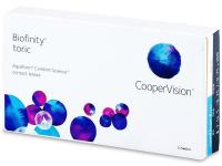 Měsíční kontaktní čočky - Biofinity Toric