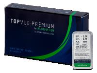 Kontaktní čočky levně - TopVue Premium for Astigmatism