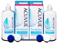 Kontaktní čočky levně - Roztok Acuvue RevitaLens 2x 360 ml