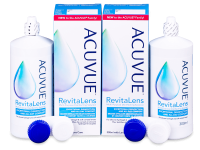 Kontaktní čočky levně - Roztok Acuvue RevitaLens 2x 300 ml