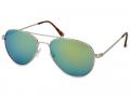 Sluneční brýle - Sluneční brýle Silver Pilot - Blue/Green