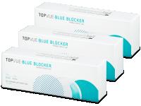 Kontaktní čočky levně - TopVue Blue Blocker