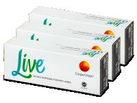 Jednodenní kontaktní čočky - Live Daily Disposable