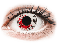 Barevné kontaktní čočky - CRAZY LENS - Graffiti - nedioptrické jednodenní