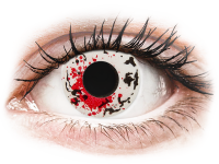 Barevné kontaktní čočky - CRAZY LENS - Graffiti - dioptrické jednodenní