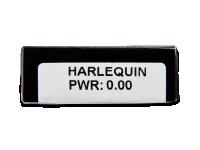 CRAZY LENS - Harlequin - nedioptrické jednodenní (2 čočky)