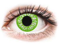 Crazy barevné kontaktní čočky - CRAZY LENS - Joker - nedioptrické jednodenní