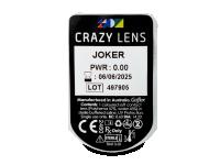 CRAZY LENS - Joker - nedioptrické jednodenní (2 čočky)