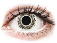 Crazy barevné kontaktní čočky - CRAZY LENS - Lord Snow - dioptrické jednodenní