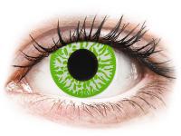 Crazy barevné kontaktní čočky - CRAZY LENS - Joker - dioptrické jednodenní