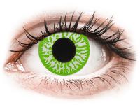 Barevné kontaktní čočky - CRAZY LENS - Joker - dioptrické jednodenní