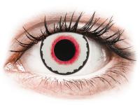 Barevné kontaktní čočky - CRAZY LENS - Mad Clown - dioptrické jednodenní