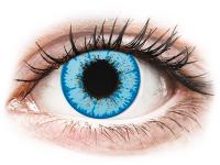 Crazy barevné kontaktní čočky - CRAZY LENS - Night King - dioptrické jednodenní