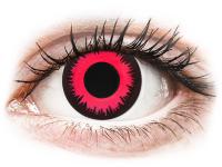 Crazy barevné kontaktní čočky - CRAZY LENS - Vampire Queen - nedioptrické jednodenní