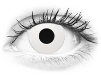 CRAZY LENS - WhiteOut - nedioptrické jednodenní (2 čočky)