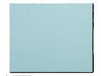Příslušenství k čočkám - Čistící hadřík na brýle - světle modrý
