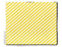 Příslušenství k čočkám - Čistící hadřík na brýle - žluté proužky