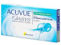 Multifokální kontaktní čočky - Acuvue Oasys for Presbyopia