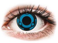 Crazy barevné kontaktní čočky - CRAZY LENS -  Vision - nedioptrické jednodenní