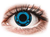 Barevné kontaktní čočky - CRAZY LENS -  Vision - nedioptrické jednodenní