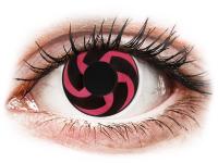 Crazy barevné kontaktní čočky - CRAZY LENS - Haku - nedioptrické jednodenní