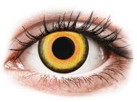 Barevné kontaktní čočky - CRAZY LENS - Midnight Sun - nedioptrické jednodenní