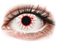 Barevné kontaktní čočky - CRAZY LENS - Red Viper - nedioptrické jednodenní