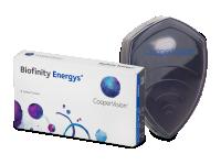 Kontaktní čočky Cooper Vision - Biofinity Energys (6 čoček)