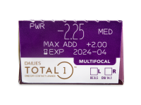 Dailies TOTAL1 Multifocal (30 čoček)