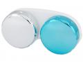 Pouzdra na kontaktní čočky - Pouzdro na čočky zrcadlové - modré