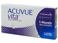 Měsíční kontaktní čočky - Acuvue Vita