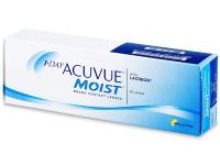 Kontaktní čočky levně - 1 Day Acuvue Moist