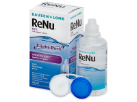 Kontaktní čočky Bausch and Lomb - Roztok ReNu MPS Sensitive Eyes Flight pack 100 ml